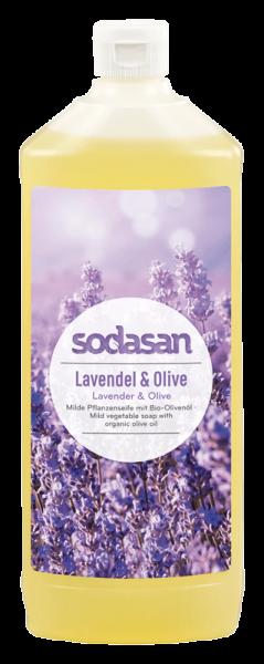 Bio Lavendel Olive Flüssigseife