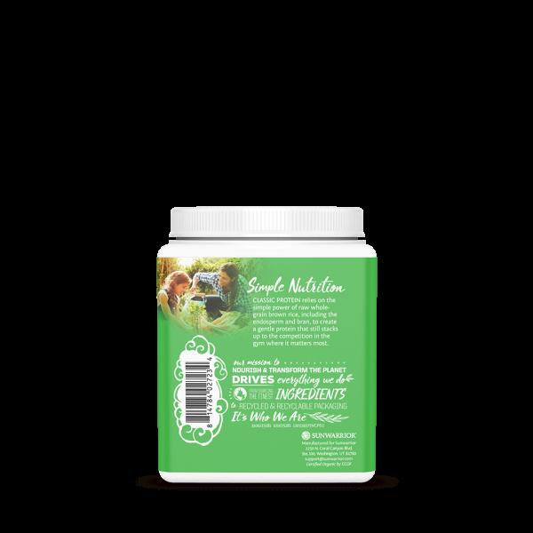 Klassisches Protein Vanille vegan