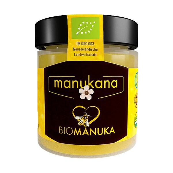 Manukana Bio Manuka Honig MGO 400+