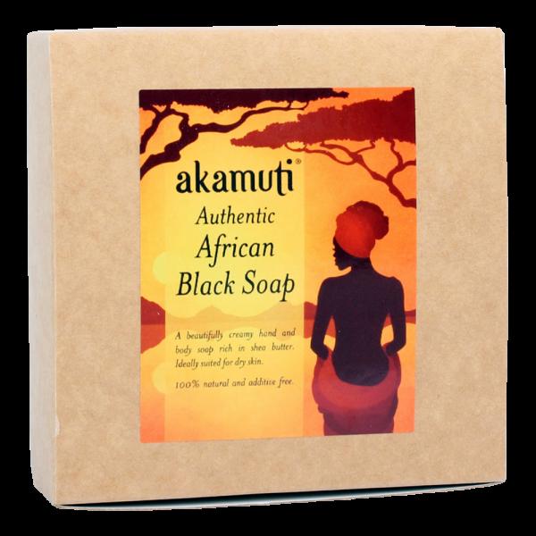 Afrikanische schwarze Soap Bar