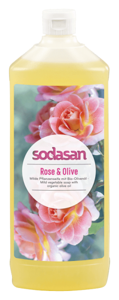 Bio Rose Olive Flüssigseife
