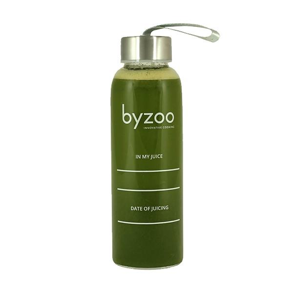 Byzoo Glasflasche 6er Set 550 ml