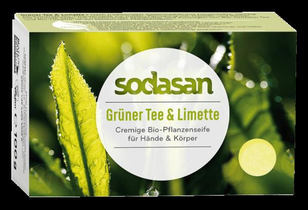 Bio-Seife Grüner Tee & Limette