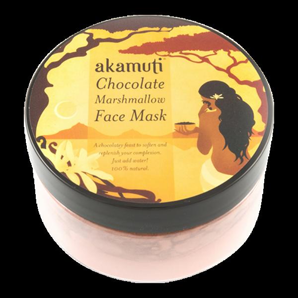 Mini Schokoladen-Marshmallow-Gesichtsmaske