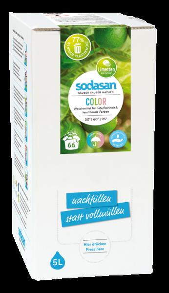 Color 'Flüssigwaschmittel Limette