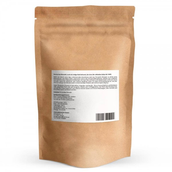 Persisches Blausalz fein gemahlen 200 g