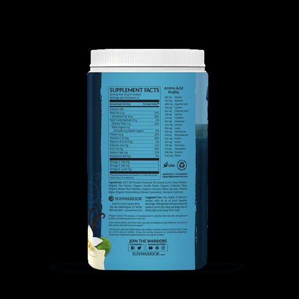 Tropical Vanilla Protein Pulver