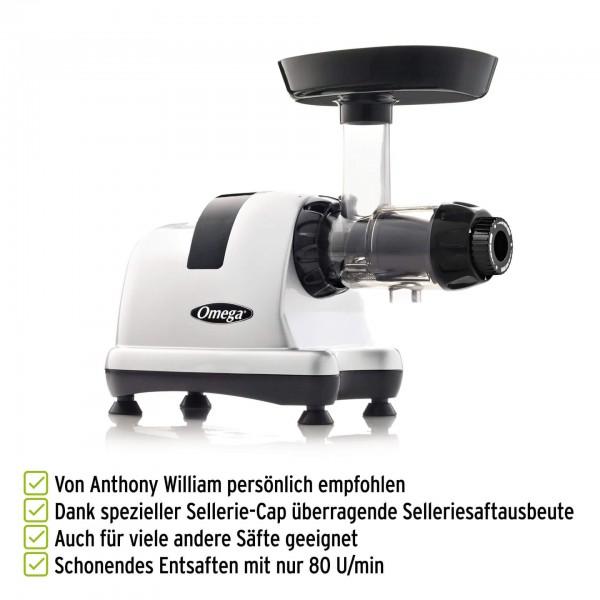 Omega MM900 Selleriesaftspezialist nach Anthony Williams