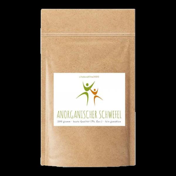 Anorganischer Schwefel 99,9% Ph. Eur. fein gemahlen 500 g