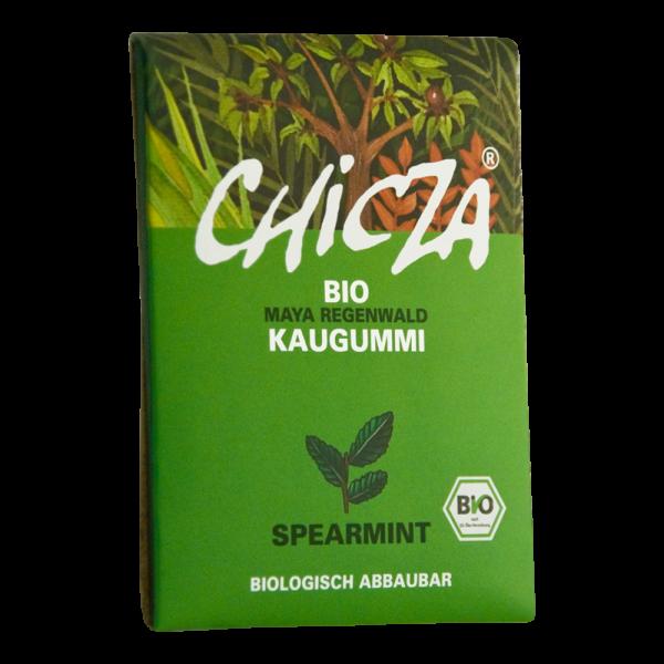 CHICZA®- Bio-Kaugummi Spearmint Maya Regenwald