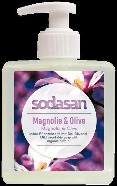 Bio Magnolie & Olive Flüssigseife