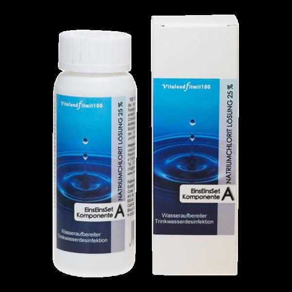 Natriumchlorit 25% + 21% Milchsäure Set HDPE