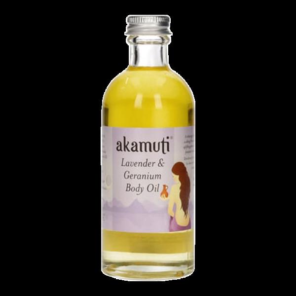 Lavendel & Geranium Körperöl
