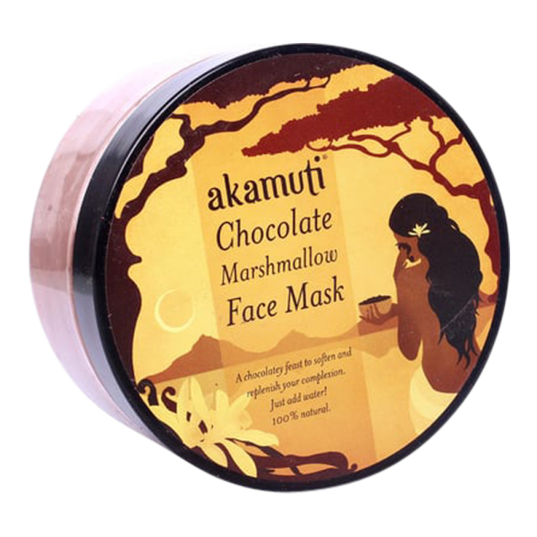 Schokoladen-Marshmallow-Maske